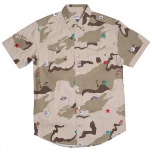 Billionaire Boys Club Men All Seeing Woven Shirt (camo / smoke)