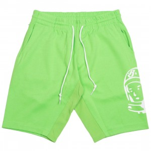 Billionaire Boys Club Men Large Helmet Shorts (green / flash)