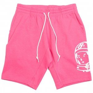 Billionaire Boys Club Men Large Helmet Shorts (pink)