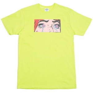 Billionaire Boys Club Men Hypno Tee (yellow / lime punch)