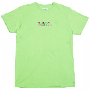 Billionaire Boys Club Men Ashbury Knit Tee (green)