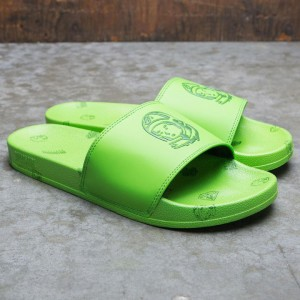Billionaire Boys Club Men Spacewalker Slides (green)
