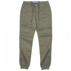 Billionaire Boys Club Men Crater Pants (green)