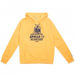 Billionaire Boys Club Men Planetary Hoody (yellow / beeswax)