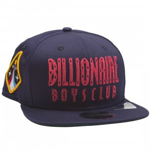 Billionaire Boys Club Straight Snapback Cap (blue)