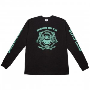 Billionaire Boys Club Men Mission Long Sleeve Tee (black)