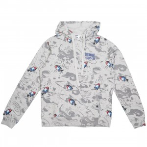Billionaire Boys Club Men Moonwaves Hoody (gray / heather)