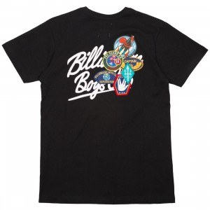 Billionaire Boys Club Men Script Knit Tee (black)