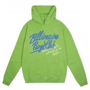 Billionaire Boys Club Men Mind Hoody (green)