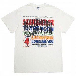 Billionaire Boys Club Men Stargazer Knit Tee (white)