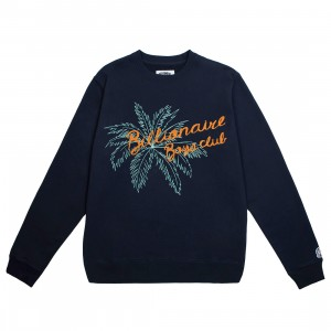 Billionaire Boys Club Men Topia Crew Sweater (navy)