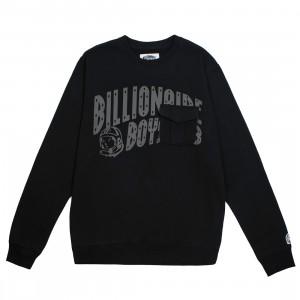 Billionaire Boys Club Men BB Crew Sweater (black)
