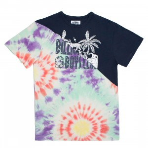 Billionaire Boys Club Men Split Knit Tee (multi / navy)