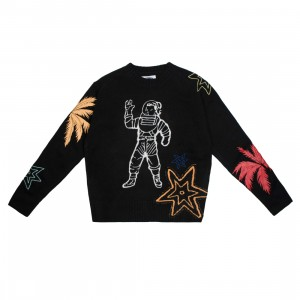 Billionaire Boys Club Men Astro Sweater (black)