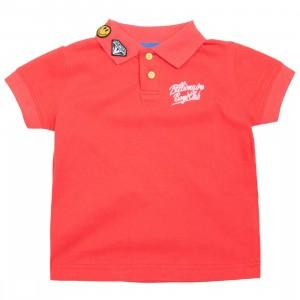 Billionaire Boys Club Youth Oli Polo Shirt (red)