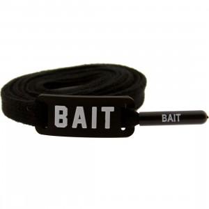 BAIT Flat Shoelaces (black)