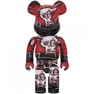 PREORDER - Medicom Jean-Michel Basquiat #5 1000% Bearbrick Figure (red)