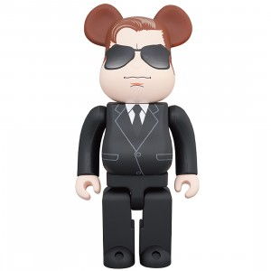 PREORDER - Medicom Men In Black International Agent H 400% Bearbrick Figure (black)
