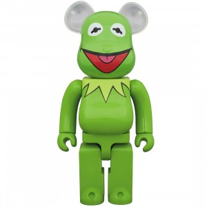 PREORDER - Medicom Meet the Muppets Kermit The Frog 1000% Bearbrick Figure (green)