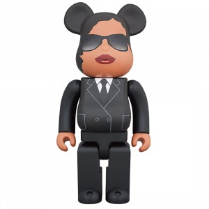 PREORDER - Medicom Men In Black International Agent M 400% Bearbrick Figure (black)