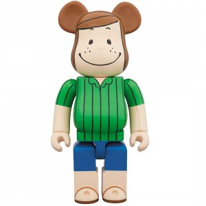 PREORDER - Medicom Peanuts Peppermint Patty 1000% Bearbrick Figure (green)