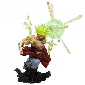 Bandai Figuarts Zero Dragon Ball Z The Burning Battles Super Saiyan Broly Figure (tan)