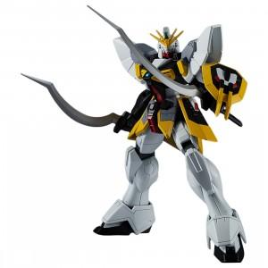 Bandai Gundam Universe New Mobile Report Gundam Wing XXXG-01SR Gundam Sandrock Figure (white)