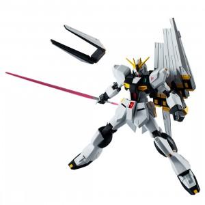 Bandai Gundam Universe Mobile Suit Gundam Char's Counterattack RX-93 v Gundam Figure (white)
