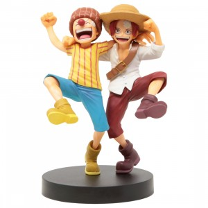 Bandai Ichibansho One Piece Legends Over Time Shanks And Buggy Figure (yellow)