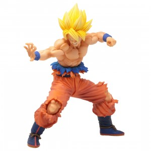 Bandai Ichibansho Dragon Ball Vs Omnibus Z Super Saiyan Son Goku Figure (orange)