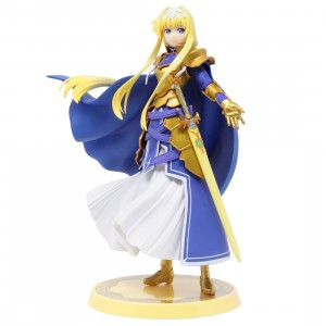 Bandai Ichibansho Sword Art Online Alicization War of Underworld Final Chapter Alice Integrity Knight Figure (blue)