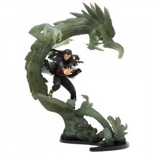 Bandai Figuarts Zero Naruto Shippuden Hashirama Senju Wood Dragon Kizuna Relation Figures (green)