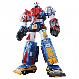 Bandai Soul Of Chogokin GX-88 Vehicle Voltron Armored Fleet Dairugger XV Figure (blue)
