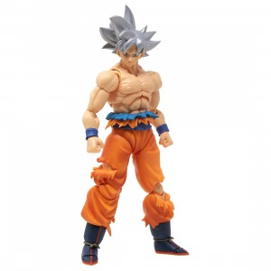 Bandai S.H.Figuarts Dragon Ball Super Ultra Instinct Son Goku Figure (silver)