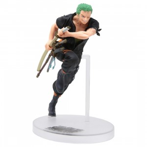 Bandai Ichiban Kuji One Piece Stampede Roronoa Zoro Figure (green)