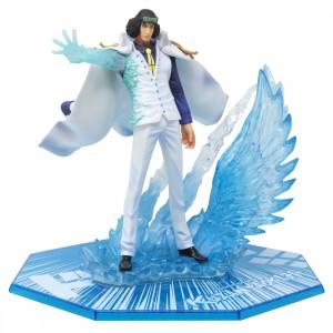 Bandai Figuarts Zero One Piece The Three Admirals Kuzan Aokiji Figure (white)