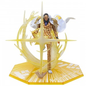 Bandai Figuarts Zero One Piece The Three Admirals Borsalino Kizaru Figure (yellow)