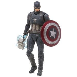 Bandai S.H.Figuarts Avengers Endgame Captain America Final Battle Edition Figure (navy)