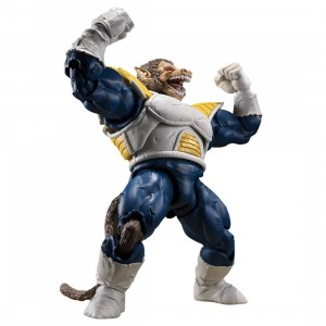 Bandai S.H. Figuarts Dragon Ball Z Great Ape Vegeta Figure (blue)