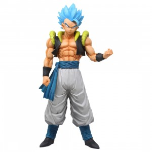 Bandai Ichiban Kuji Dragon Ball Super Saiyan God SS Gogeta Extreme Saiyan Figure (blue)