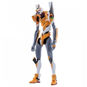 Bandai Robot Spirits Evangelion New Theatrical Edition Evangelion Proto Type-00 Figure (yellow)