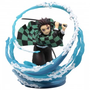 Bandai Figuarts Zero Demon Slayer Kamado Tanjiro Breath of Water Figure (blue)