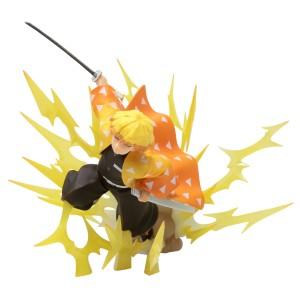 Bandai Figuarts Zero Demon Slayer Agatsuma Zenitsu Thunder Breathing Figure (yellow)
