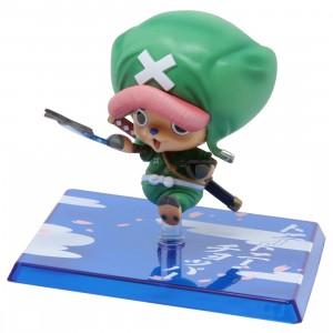 Bandai Figuarts Zero One Piece Tony Tony Chopper Chopaeman Figure (green)