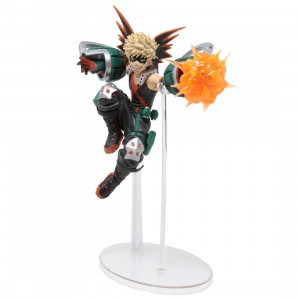 Bandai Ichiban Kuji My Hero Academia Next Generations! Feat. Smash Rising Katsuki Bakugo Figure (black)
