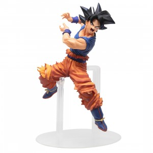 Bandai Ichiban Kuji Dragon Ball Dokkan Battle Son Goku Ultra Instinct Figure (orange)