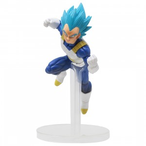 Bandai Ichiban Kuji Dragon Ball Dokkan Battle Super Saiyan Blue Vegeta Figure (blue)