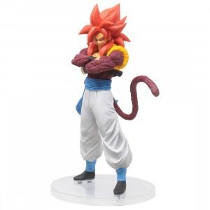 Bandai Ichiban Kuji Dragon Ball Dokkan Battle Super Saiyan 4 Gogeta Figure (red)