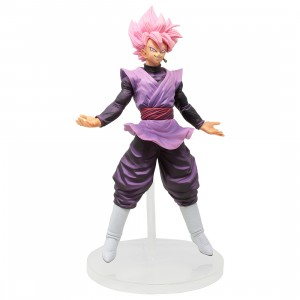 Bandai Ichiban Kuji Dragon Ball Dokkan Battle Goku Black Super Saiyan Rose Figure (pink)