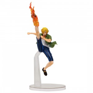 Bandai Ichiban Kuji One Piece Sanji Great Banquet Figure (blue)